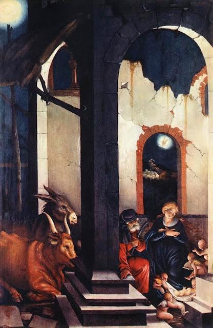 Hans Baldung - Nativity