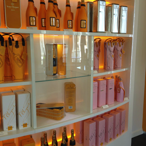Shopping at Veuve Cliquot, Reims. From 100 Places in France Every Woman Should Go
