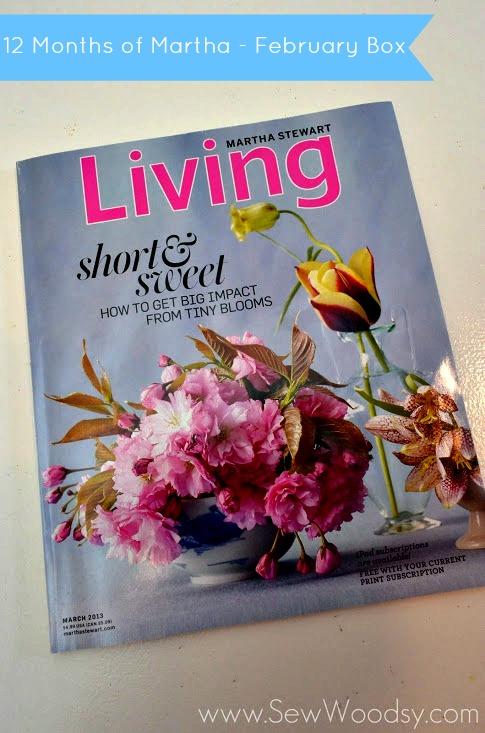 #12MonthsOfMartha Martha Stewart Living Magazine - March