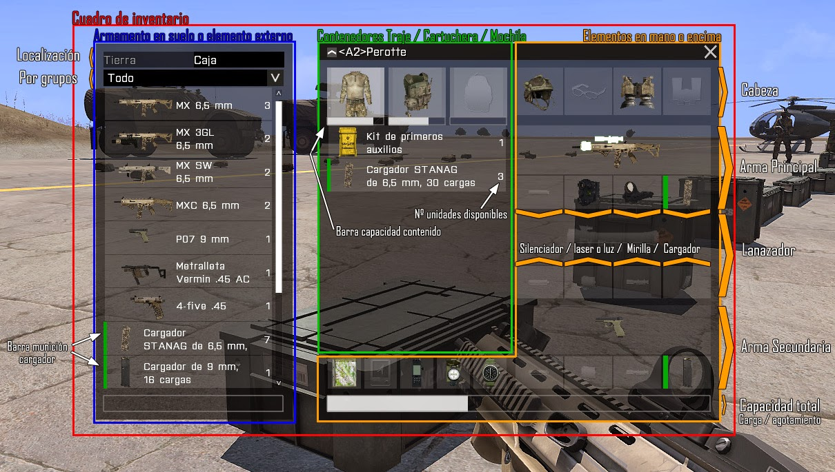 Equipo ArmA3