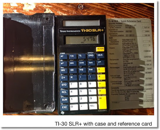ti 30 slr calculator manual