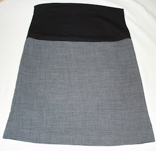 sukňa so sedlom, skirt with saddle