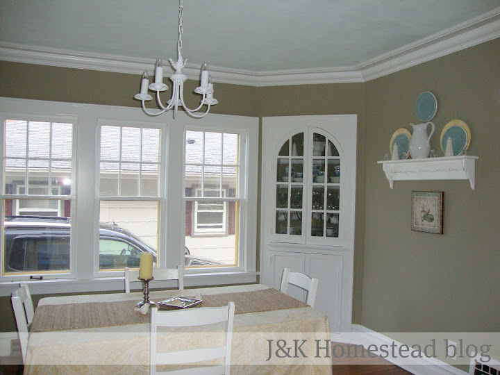 J&K Homestead: Dining Room Curtains… What to do?