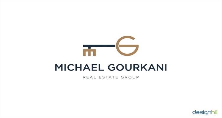 real estate logos michael gourkani