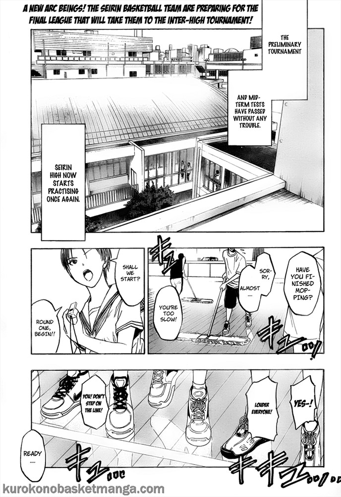Kuroko no Basket Manga Chapter 38 - Image 01