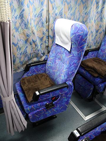 伊予鉄道「オレンジライナー」名古屋線 5220 シート