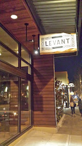 Stop #2 Levant as part of #LGPFoodCrawl