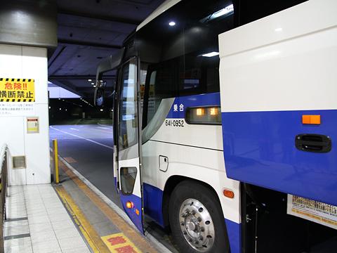 中国JRバス「出雲路」 641-0952 西鉄天神BC到着 その2