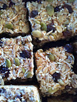 Muesli slice - seedy delicious-ness