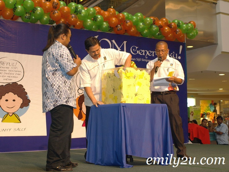 Bank Simpanan Nasional lucky draw
