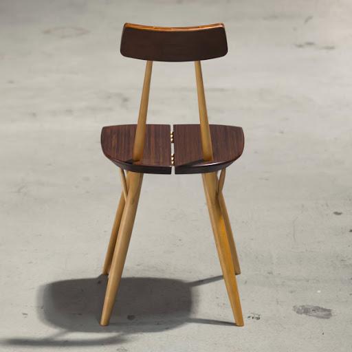 ピルッカチェア(Pirkka Chair):斜め