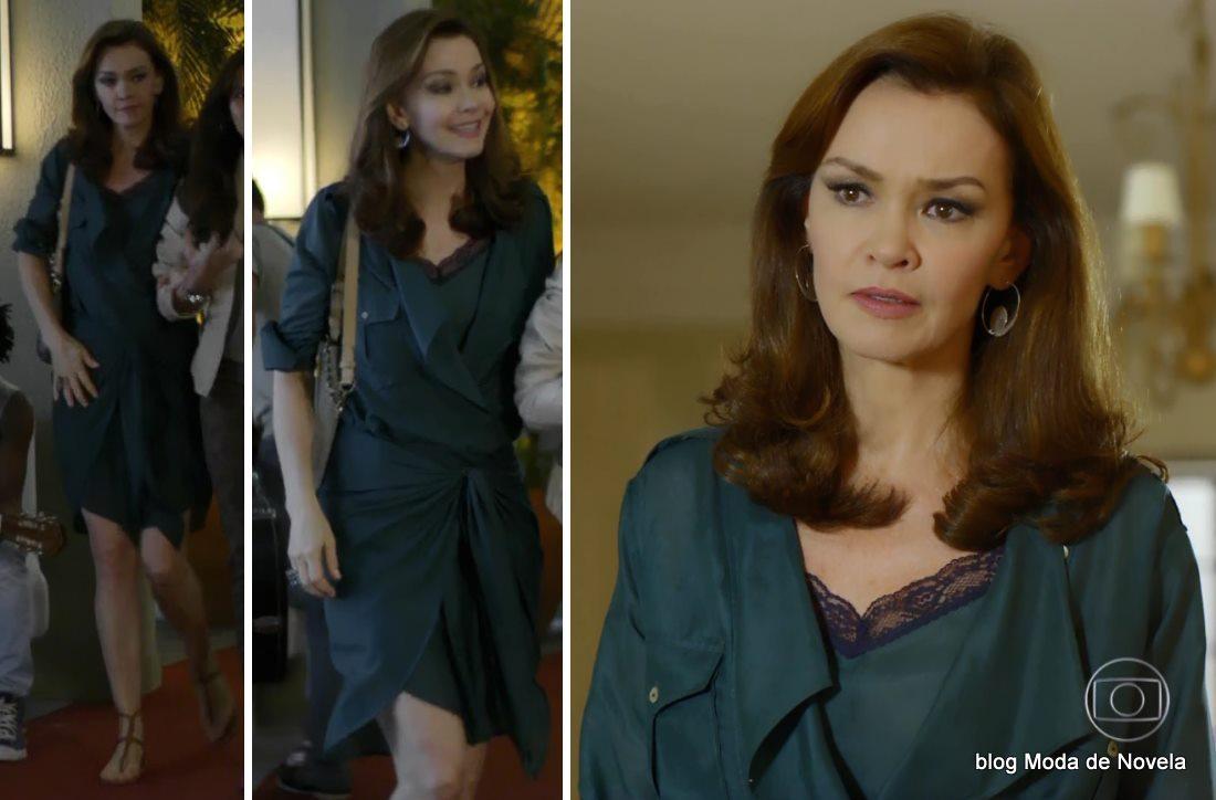 moda da novela Em Família - look da Helena dia 20 de maio