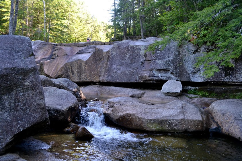 "Водопад ""Купель Дианы"", Нью-Гэмпшир (Diana's Baths, NH)"