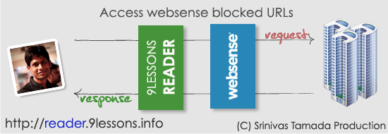 Access Websense Blocked URLs.