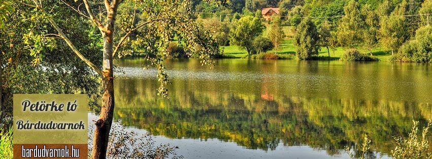 Petörke tó Bárdudvarnok