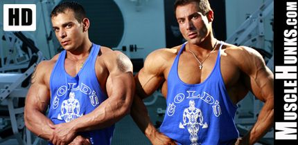 Hot Muscular Hunks Top Bodybuilders