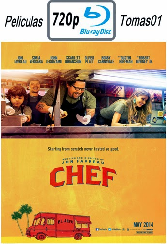 Chef a Domicilio (2014) (BD)BRRip 720p