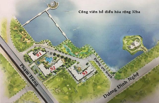 Quy hoạch Chung cư Vinhomes Phạm Hùng