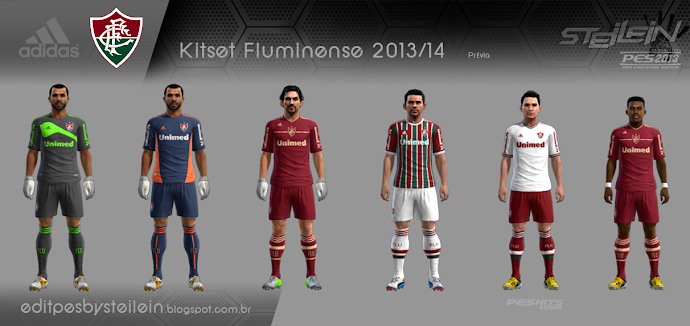 Fluminense 2013-14 Kitset - PES 2013