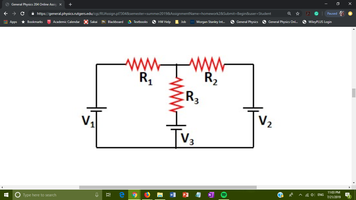 Solved: Find The Current In The R1 Resistor In The Drawing