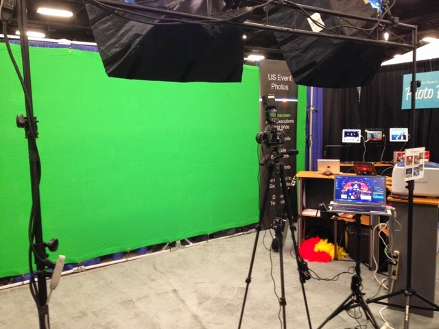 Tampa, Miami, Orlando Green Screen Photographer Setup