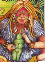 Takotsi Nakawe Goddess Of The Earth Image