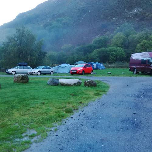Camping  at HAFOD LWYFOG