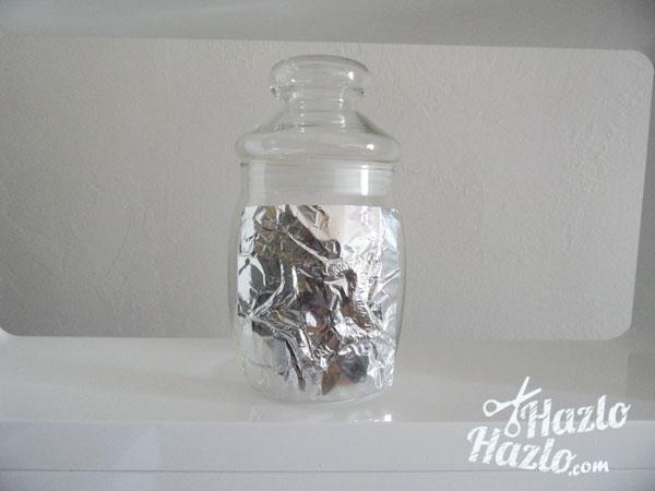 Como hacer adornos papel plata