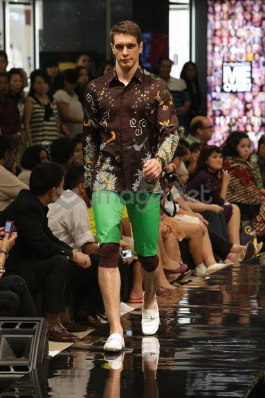 Jimmy Wong at Jakarta Fashion Week Spring/Summer 2016