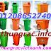 Thùng rác nhựa HDPE chất lượng tốt, hàng mới ra xưởng giá siêu rẻ - www.thungracvietxanh.com - 01208652740 Huyền