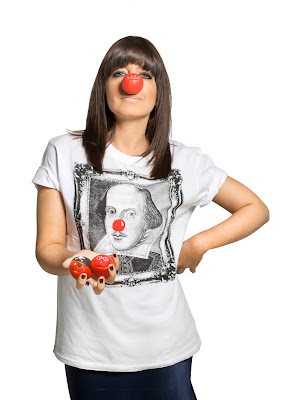 claudia winkleman red nose day 2011