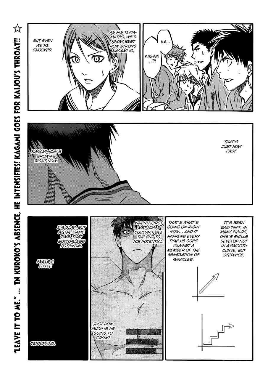 Kuroko no Basket Manga Chapter 192 - Image 01