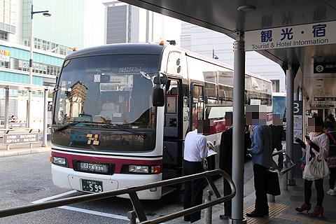 阪急バス「さぬきエクスプレス大阪号」 2780 高松駅改札中