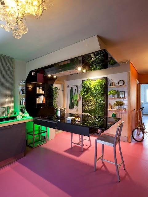 Los beneficios de un jard n vertical interior for Jardines colgantes para interiores