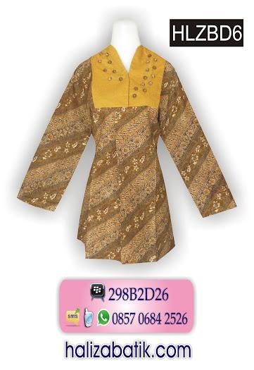 grosir batik pekalongan, Batik Muslim, Model Busana Batik, Model Busana
