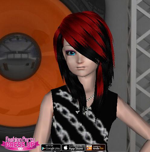 Fashion Party Dress Up Level 21 - Rocker/Punk Rock - Trixie - Snapshot
