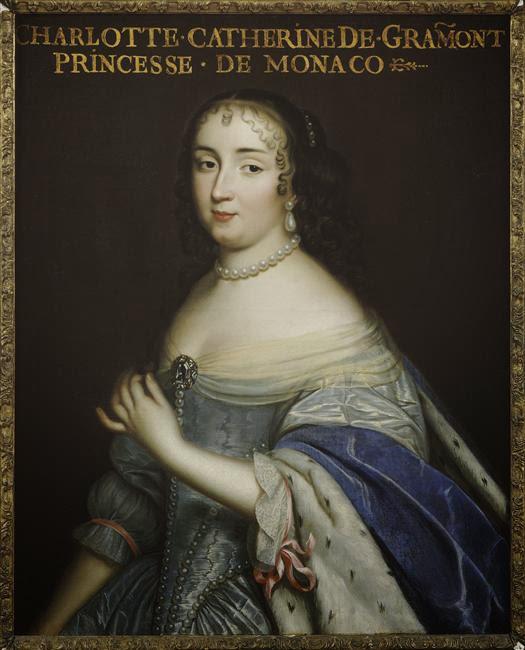 Charles Beaubrun - Catherine Charlotte de Gramont,royal mistress