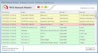 Instalar Consola Enterprise PRTG (Windows GUI)