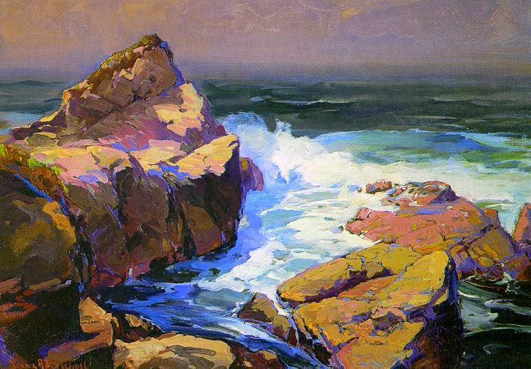 Franz Bischoff - Monterey Coast.