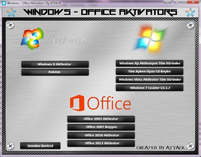 Программа Windows loader поможет вам активировать Windows
