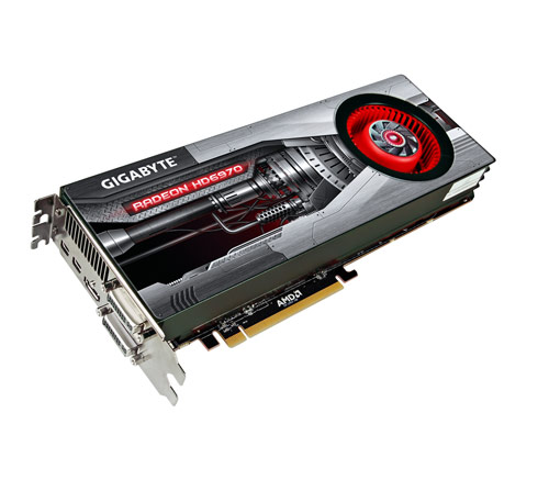 GIGABYTE AMD Radeon HD 6970 GV-R697D5-2GD-B
