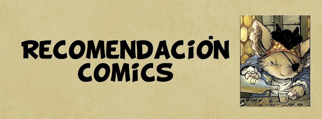 Recomendacion comics