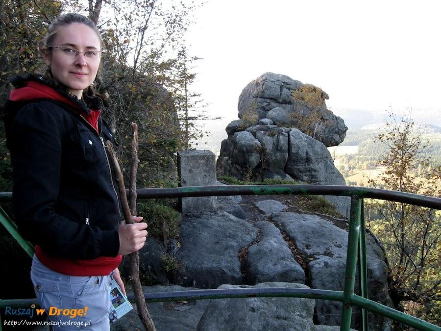 szczeliniec wielki - skała małpolud