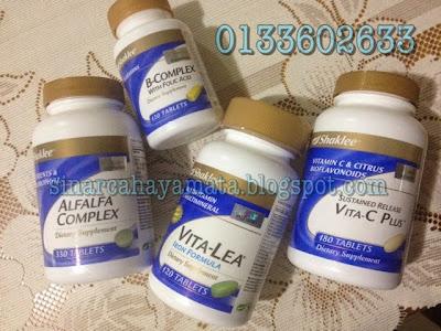 vitamin tambah susu