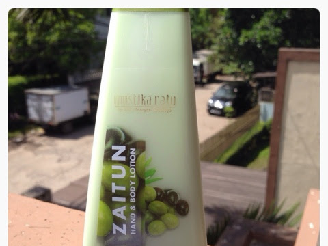 [Review] Mustika Ratu - Zaitun Hand and Body Lotion