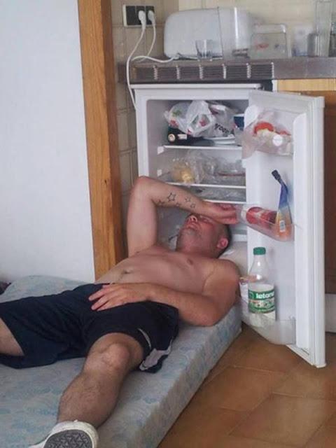 Siêu hài hước với những phương pháp chống chọi với mùa nóng