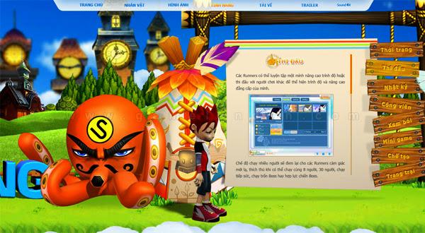 Trang giới thiệu GoGoRun đã chính thức trình làng 12