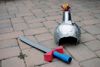 Knights-in-Training - inspiration to train your young knights in chivalry {free printable}
