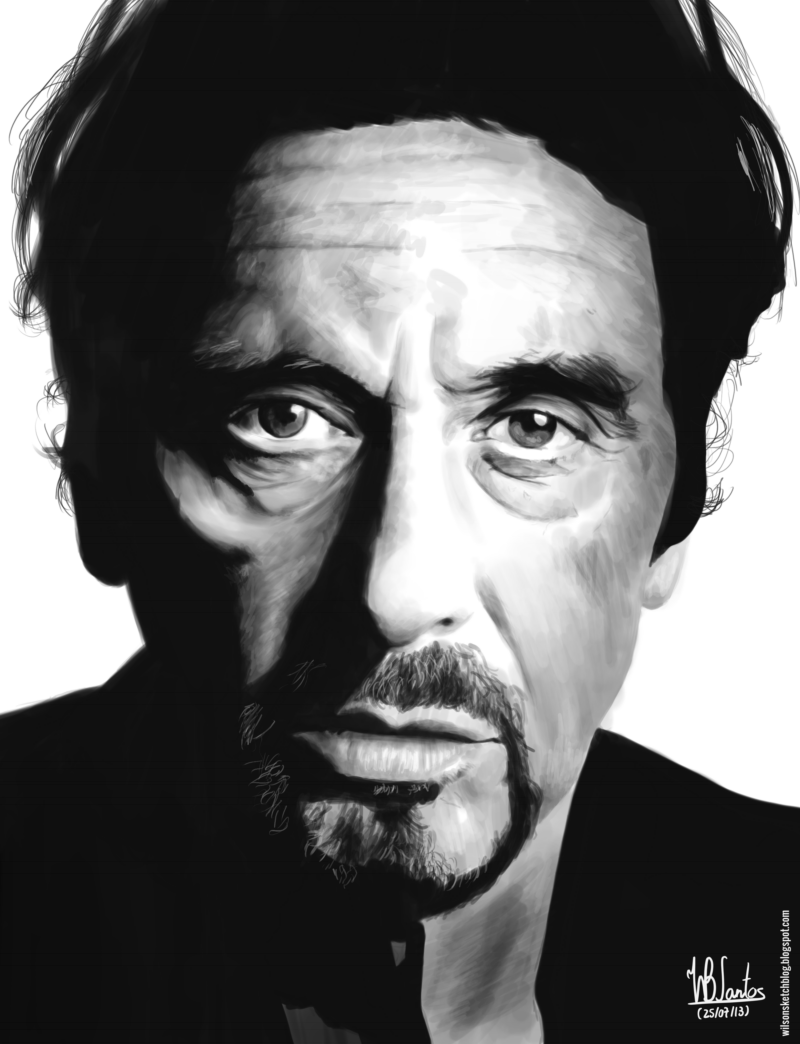 Al Pacino (Digital painting) Al Pacino