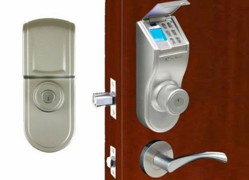 ITouchless Stainless Steel Bio Matic Fingerprint Deadbolt Door Lock Best  Deals